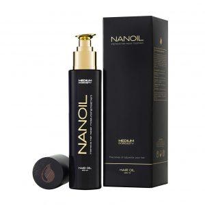 Nanoil El poder de la naturaleza para tu pelo